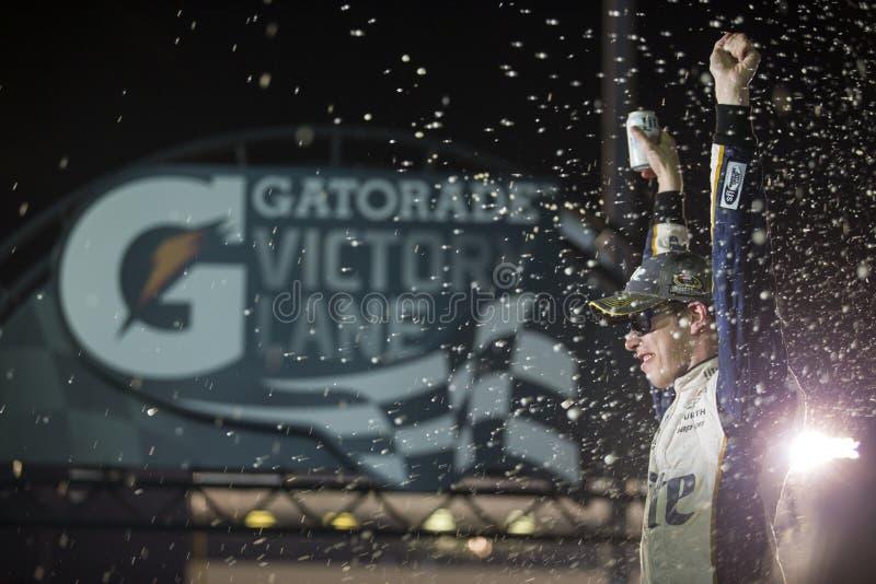 NASCAR: Peças de automóvel federadas 6 de setembro 400 foto de stock