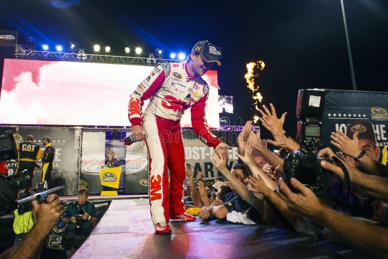 NASCAR: Peças de automóvel federadas 12 de setembro 400 imagens de stock