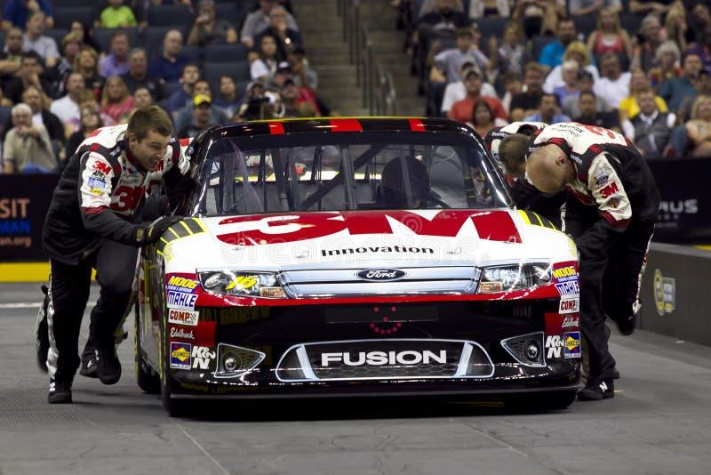 NASCAR: Pit Crew Challenge Biffle royalty free stock images