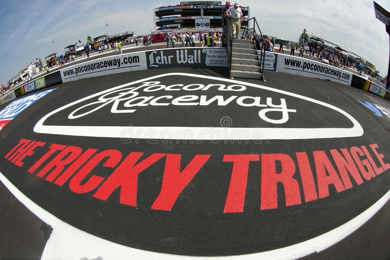 NASCAR: Pocono 400 stockfotos