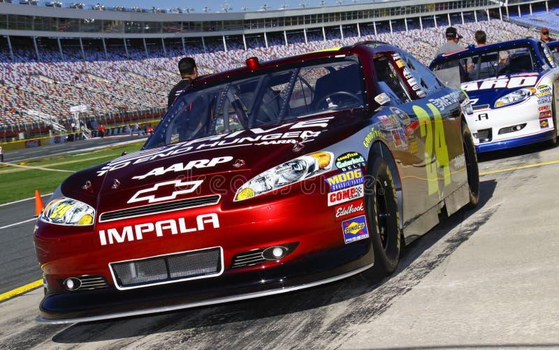 NASCAR - Potenza di Hendrick fotografia stock libera da diritti