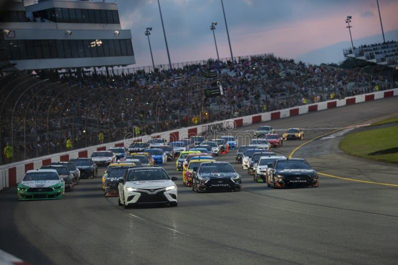 NASCAR : Propriétaires 400 de Toyota du 13 avril photo libre de droits