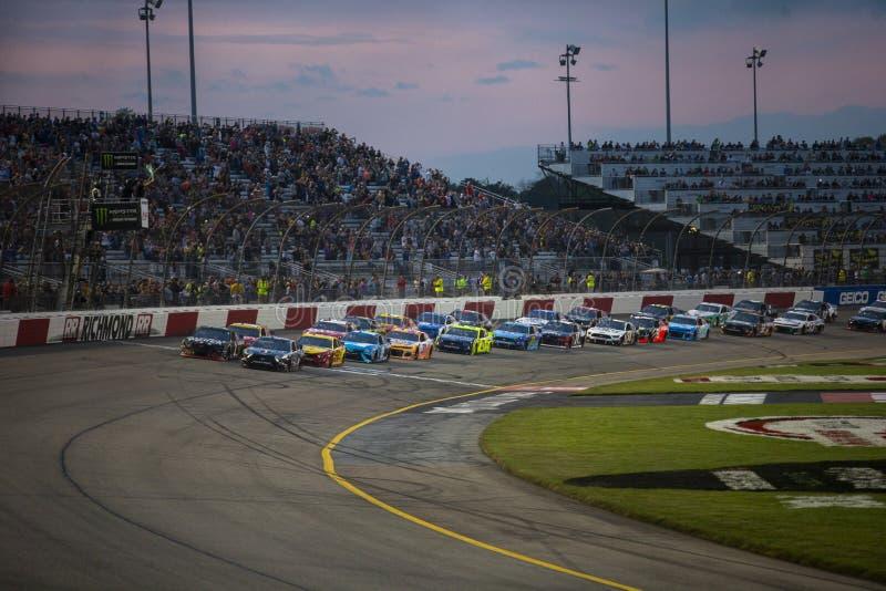 NASCAR : Propriétaires 400 de Toyota du 13 avril photographie stock