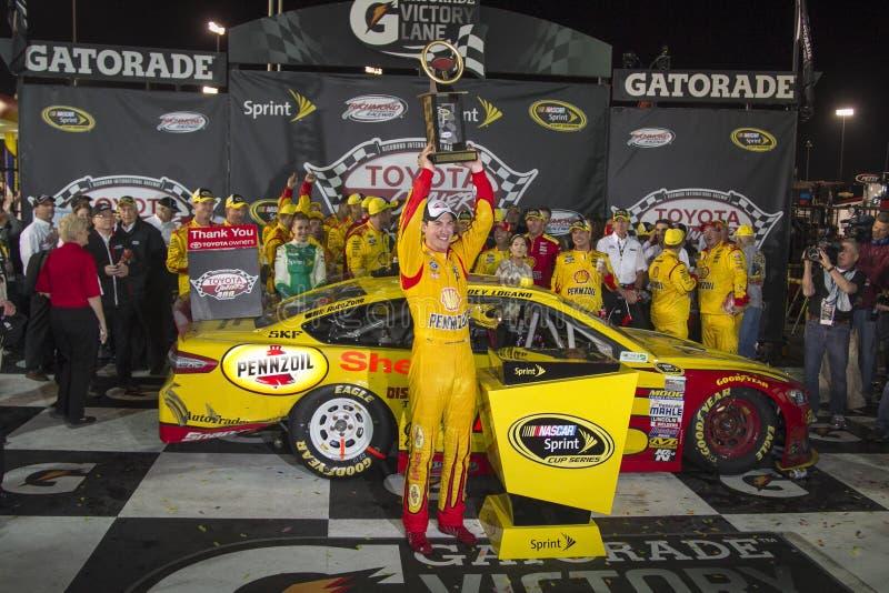 NASCAR: Proprietários 400 de Toyota do 26 de abril fotografia de stock