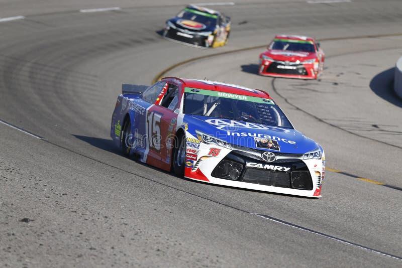 NASCAR: Proprietários 400 de Toyota do 24 de abril imagem de stock royalty free