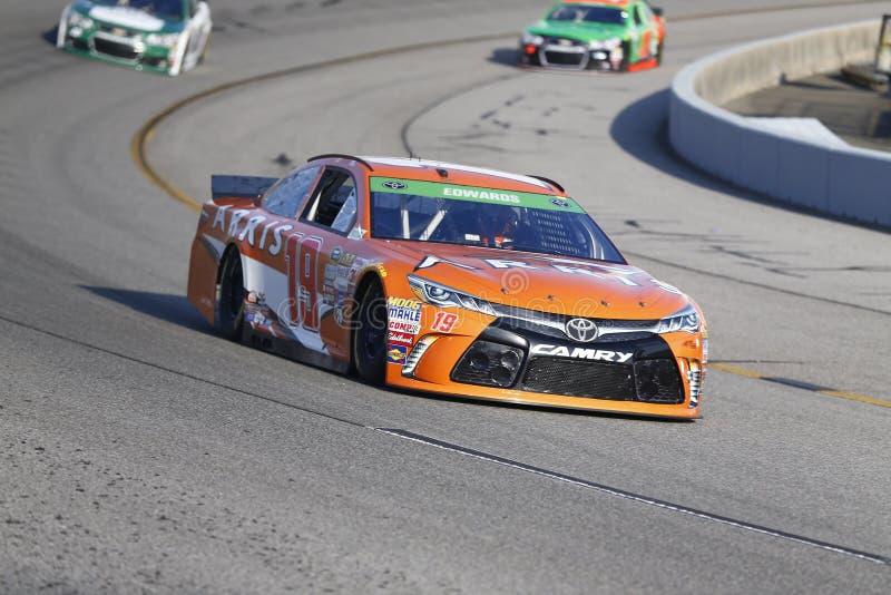 NASCAR: Proprietários 400 de Toyota do 24 de abril imagem de stock