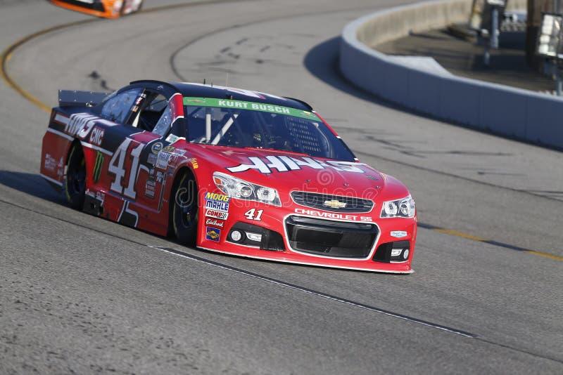 NASCAR: Proprietários 400 de Toyota do 24 de abril fotografia de stock