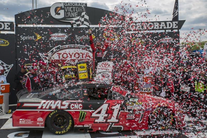 NASCAR: Proprietários 400 de Toyota do 26 de abril imagem de stock