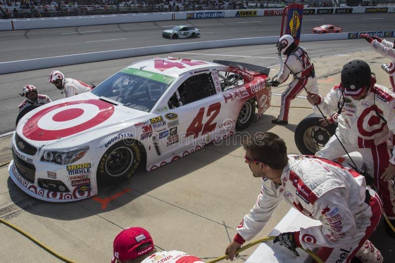 NASCAR: Proprietários 400 de Toyota do 26 de abril foto de stock royalty free