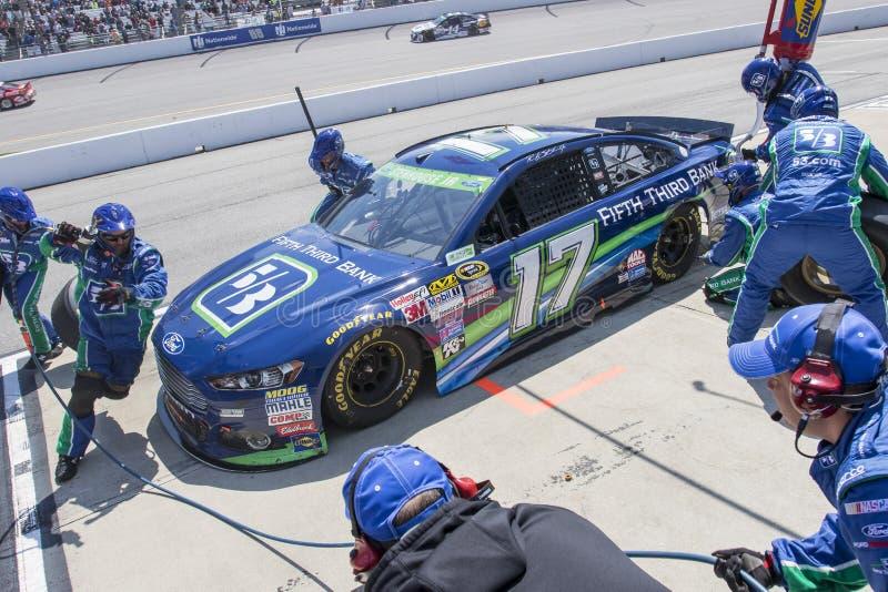 NASCAR: Proprietários 400 de Toyota do 26 de abril fotos de stock