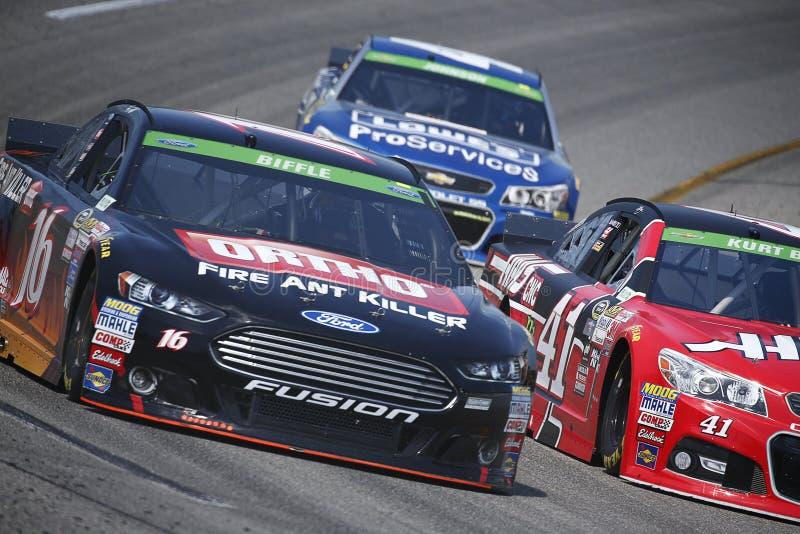NASCAR: Proprietários 400 de Toyota do 24 de abril fotos de stock royalty free