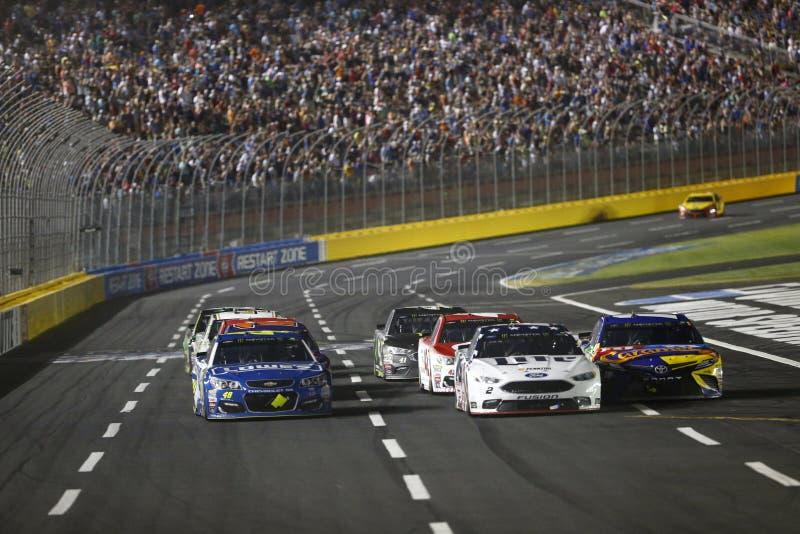 NASCAR: Raça All-star da energia NASCAR do monstro do 20 de maio fotos de stock royalty free