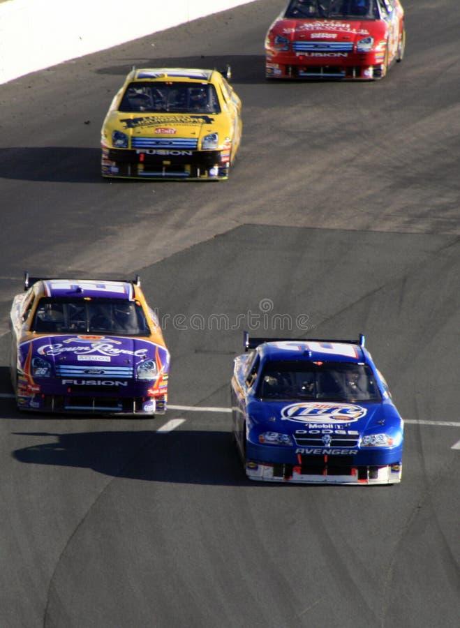 NASCAR - Racin no NH imagens de stock