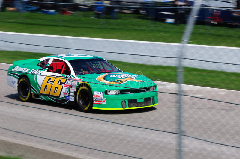 Nascar racing car royalty free stock image