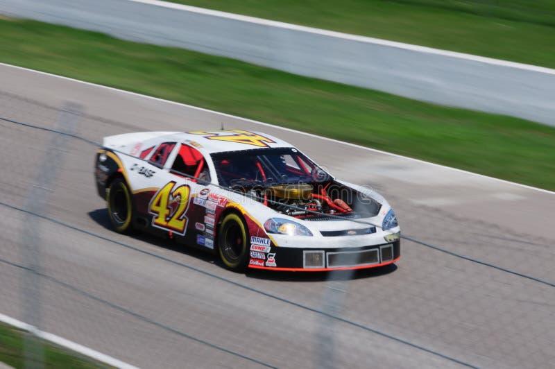 Nascar racing car stock photography