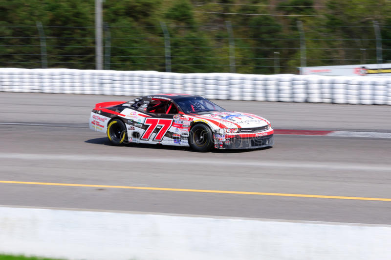 Nascar racing car royalty free stock photo