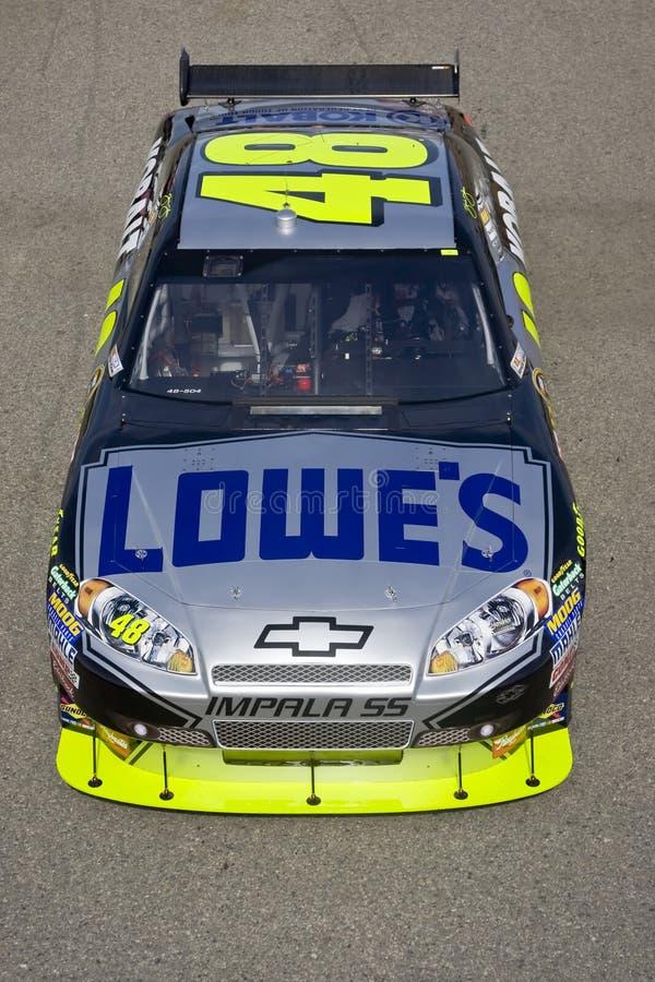 NASCAR: Randello automatico di serie della tazza di Sprint il 22 febbraio 500 fotografie stock
