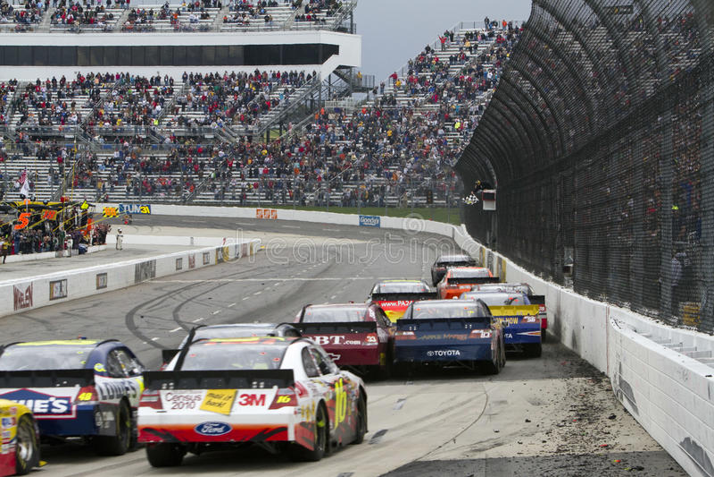 NASCAR: Relevación de dolor rápida de la chuchería del 29 de marzo 500 imagen de archivo