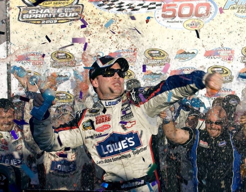 NASCAR: Ricambi auto di O'Reilly dell'ispettore del 15 novembre fotografie stock