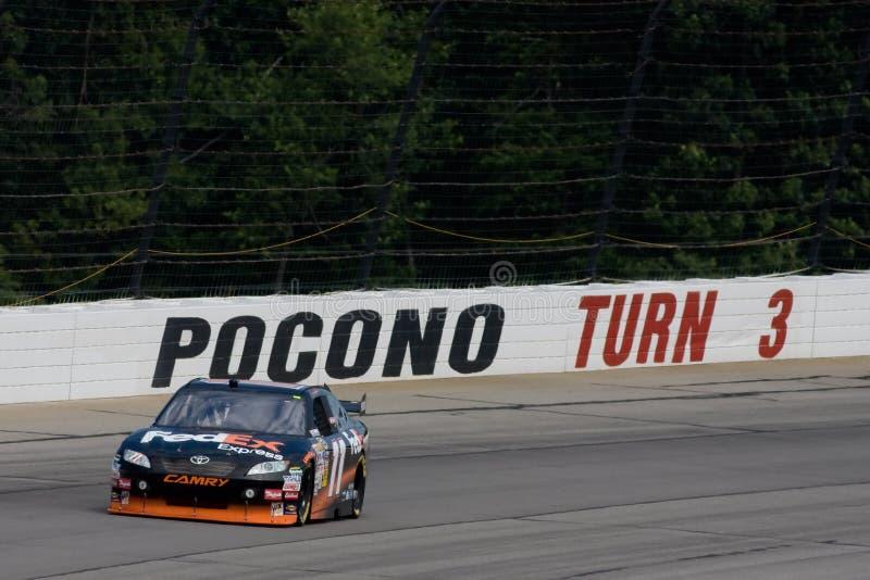 NASCAR: Rotes Kreuz Pennsylvania 500 1. August-Sunoco lizenzfreies stockbild