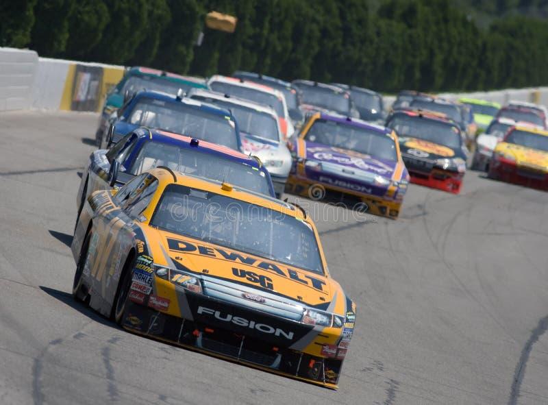 NASCAR: Rotes Kreuz Pennsylvania 500 3. August-Sunoco lizenzfreies stockbild