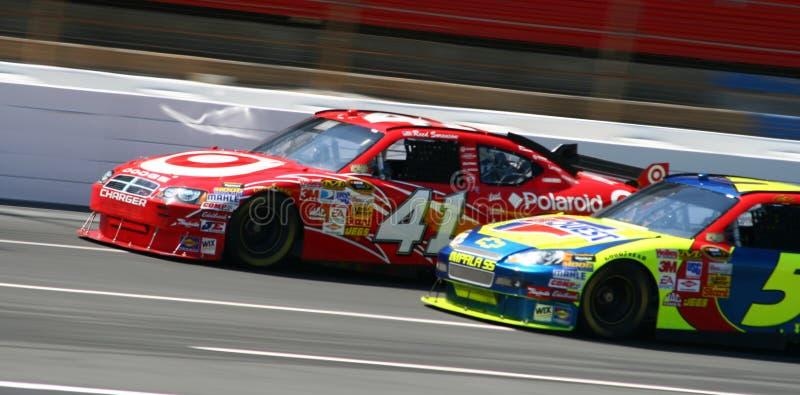 NASCAR - Roue pour rouler l'emballage !