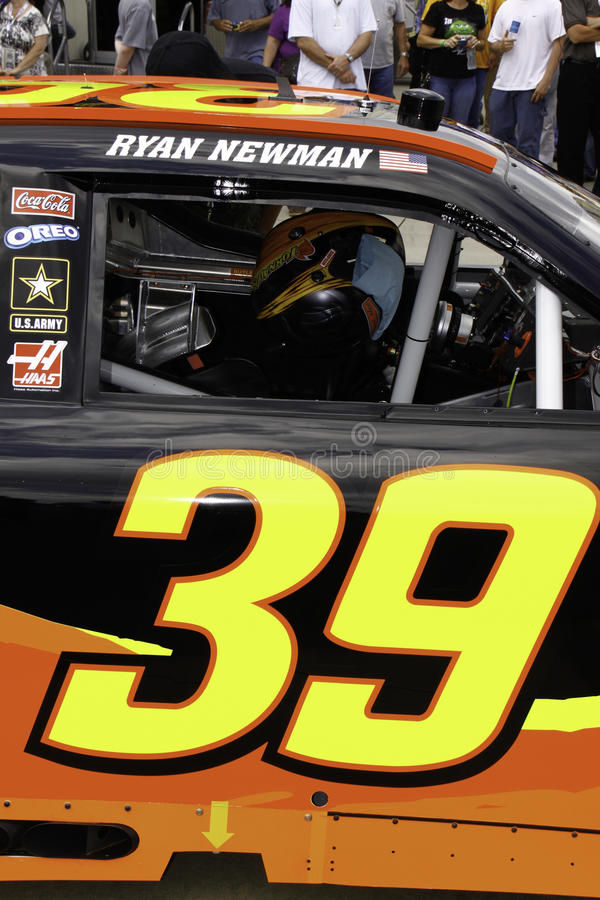 Nascar Ryan Newman 39 Door Number Editorial Photography