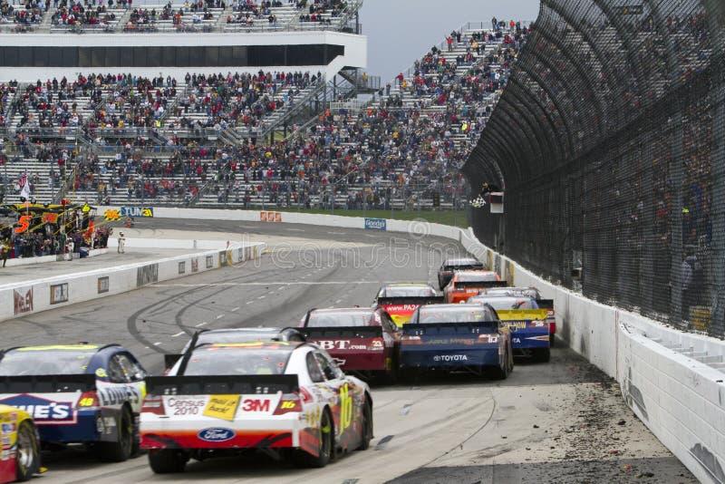 NASCAR: Schnelle Schmerz-Entlastung 500 der 29. März-guten Sachen stockbild