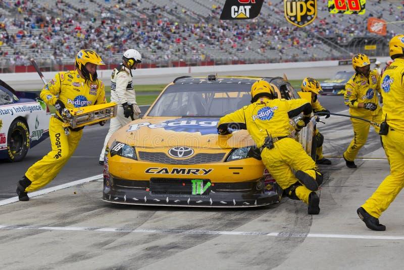 NASCAR: Sep 06 Advocare 500 royalty free stock photo