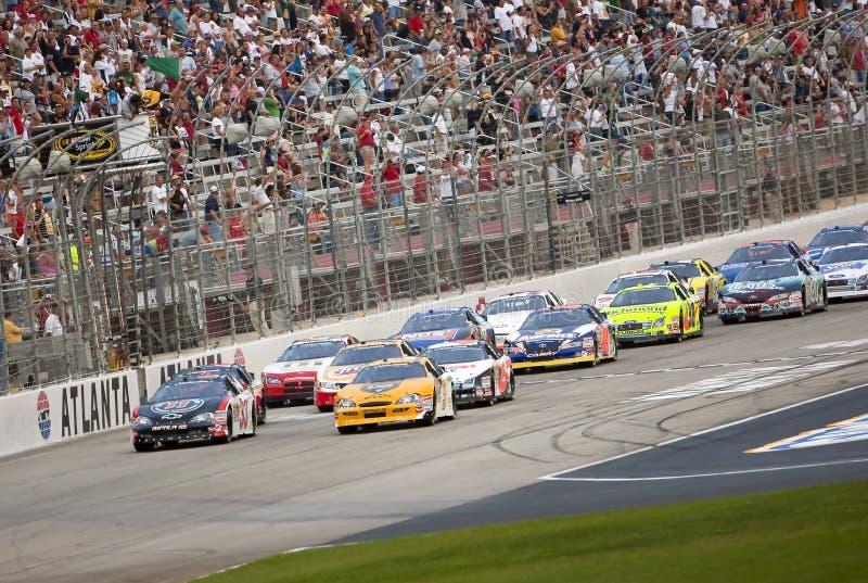 NASCAR: September 05 Degree V12 300 royalty free stock photography