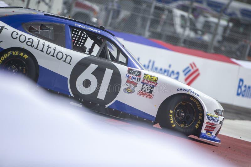 NASCAR: September 27 drev för boten 200 royaltyfri fotografi