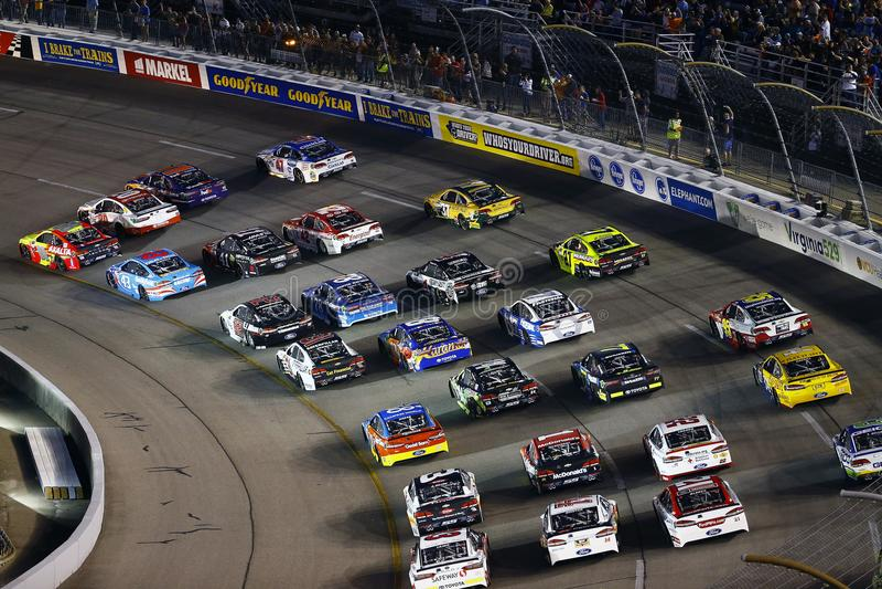 NASCAR: 09 september Gefederaliseerde Autodelen 400 royalty-vrije stock fotografie