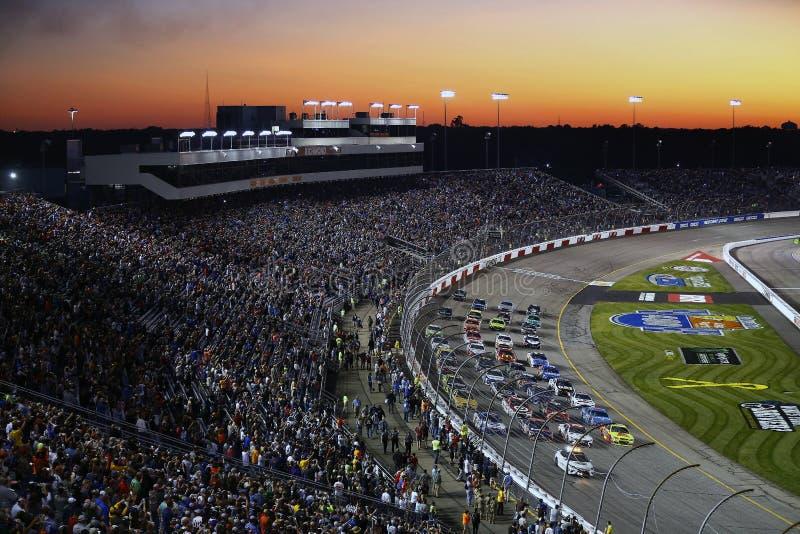 NASCAR: Am 9. September zu einem Bündnis vereinigte Autoteile 400 stockfoto