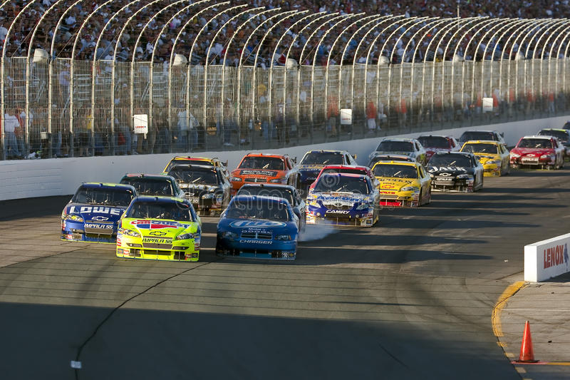 NASCAR: Setembro 20 Sylvania 300 imagens de stock