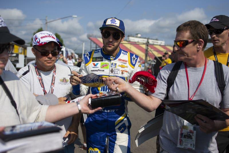 NASCAR: Sierpień 03 Iść Rzucać kulą przy roztoką zdjęcia royalty free