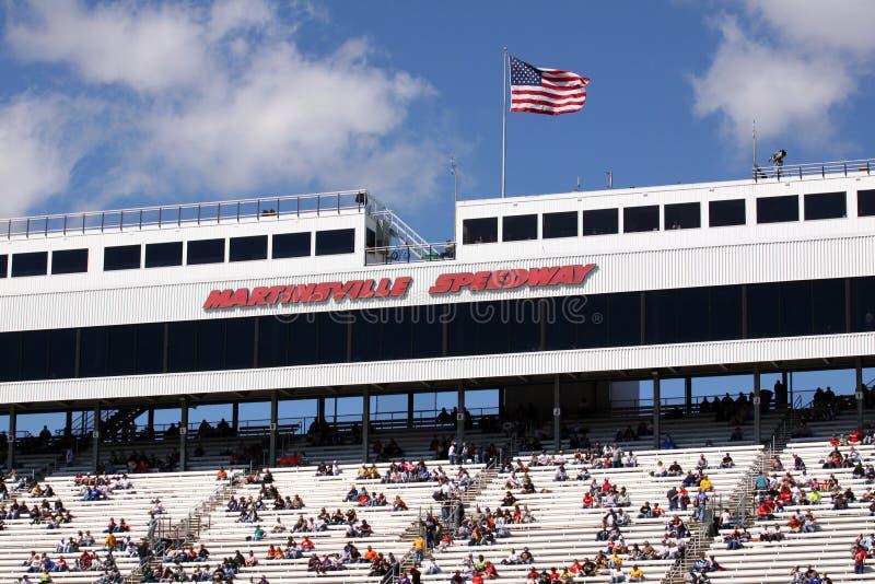 NASCAR - Speed-way de Martinsville image stock