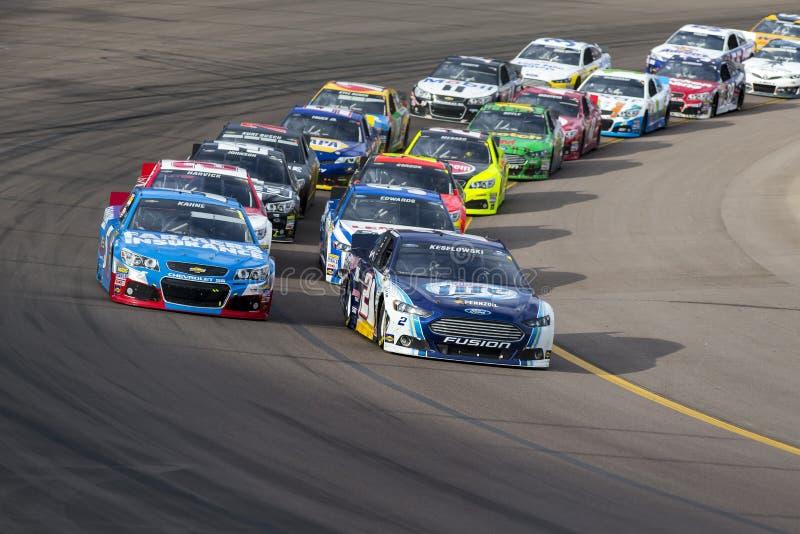 NASCAR 2013:  Sprint ahueca serie AdvoCare 500 el 10 de noviembre foto de archivo