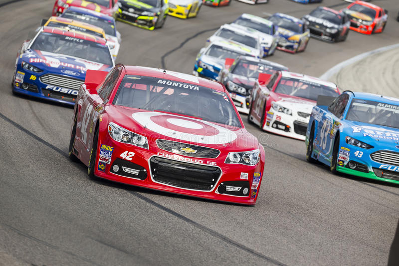 NASCAR 2013:  Sprint copo série AAA Texas 500 o 3 de novembro imagens de stock royalty free