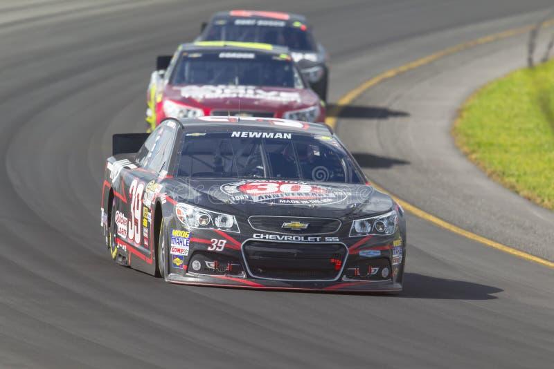 NASCAR 2013:  Sprint copo série GoBowling.com 400 o 4 de agosto fotos de stock royalty free