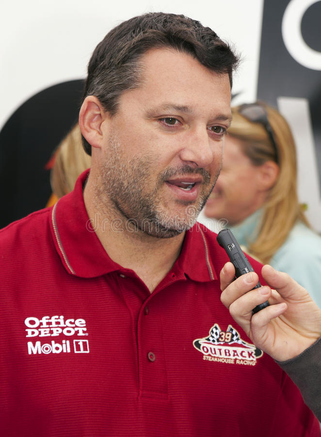 Download NASCAR Sprint Cup Champion Driver Tony Stewart Editorial Photography - Image: 22104172