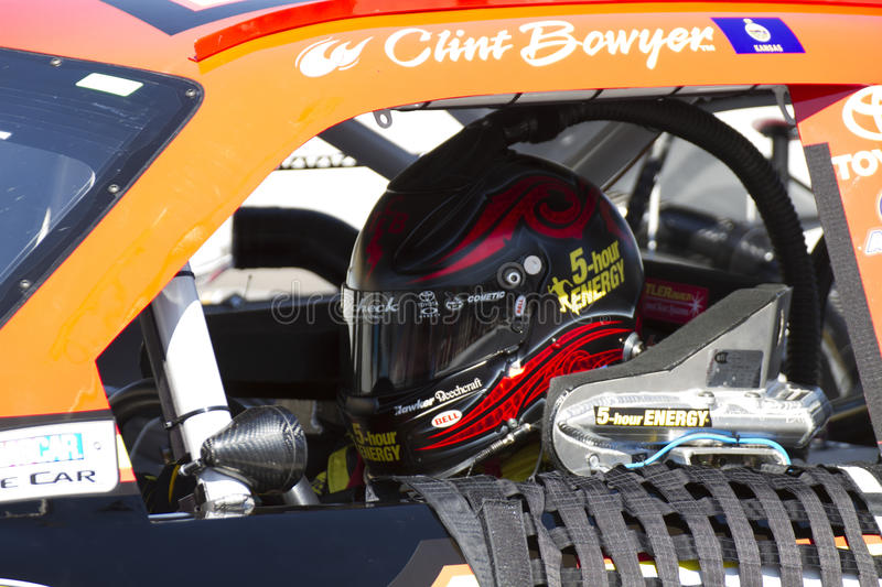 NASCAR Sprint Cup race driver Clint Bowyer royalty free stock image