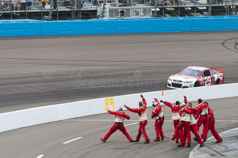 NASCAR 2013: Sprint Cup Series AdvoCare 500 November 10 stock image