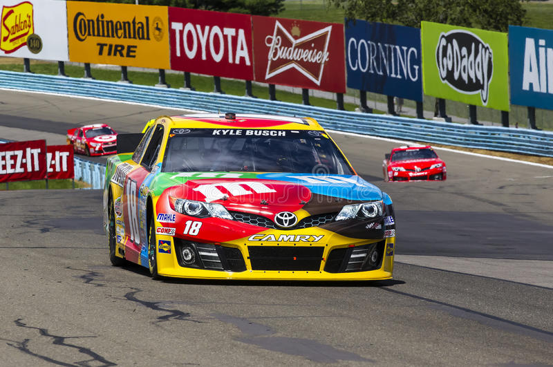 NASCAR 2013: Sprint Cup Series Cheez-It 355 at The Glen August stock photography