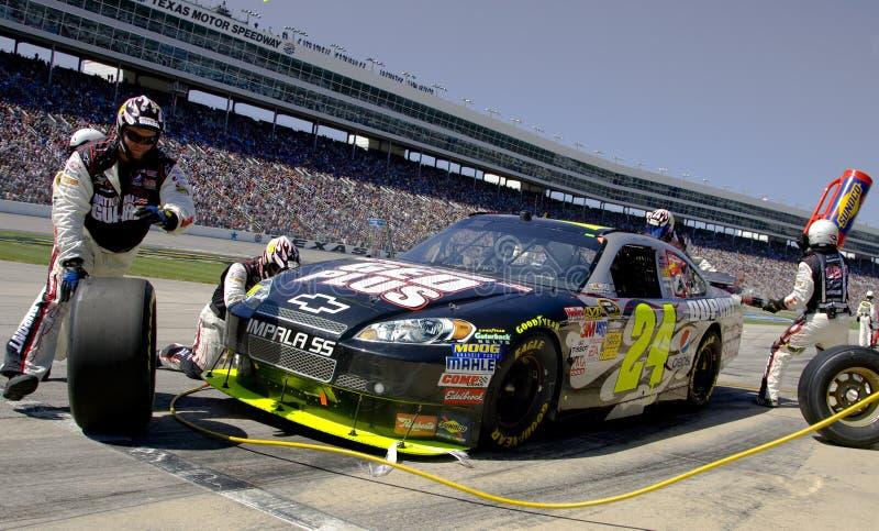 NASCAR Sprint Cup Series Samsung 500 Apr 5 Editorial Stock Image