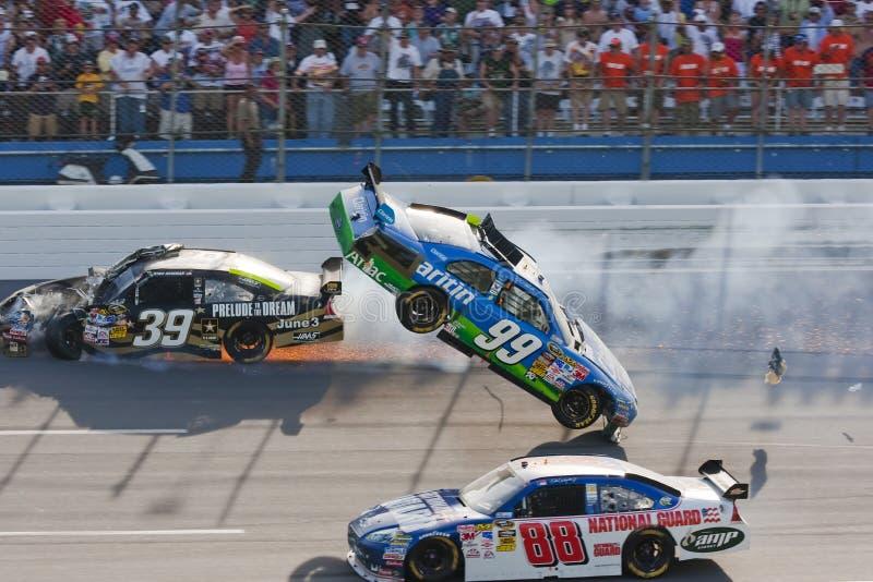 NASCAR sprinten Cup-Serien Aarons 26. April 499 stockfotografie