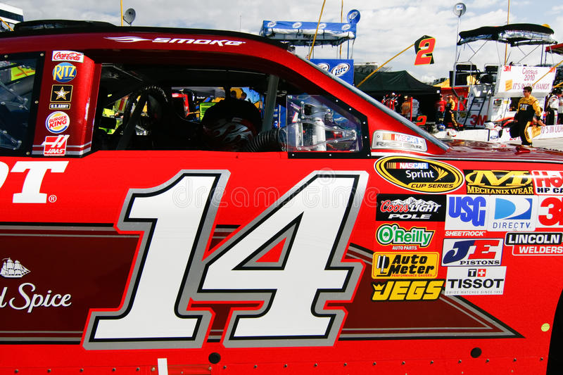 Download NASCAR - Stewart's #14 Chevrolet Editorial Stock Photo - Image of anticipation, national: 21302868