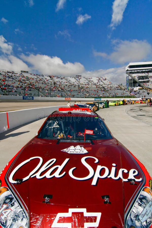 NASCAR - Stewart S #14 Old Spice Chevy Editorial Photo