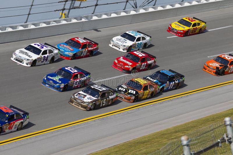 NASCAR: Talladega Superspeedway 3 wijd royalty-vrije stock afbeelding