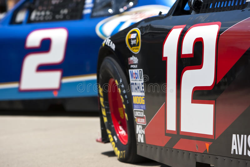 NASCAR: Teammates Allstate 400 bij Brickyard stock foto