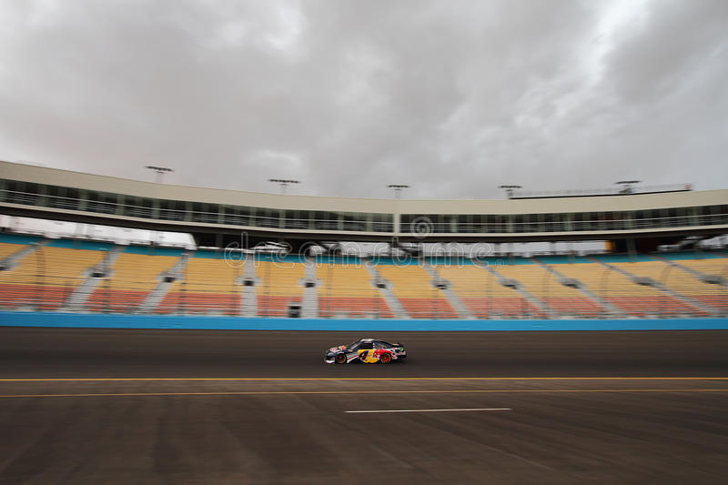 NASCAR Testing - Oct. 4, 2011 stock images
